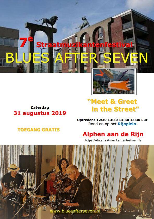 5e concept poster Straatmuzikantenfestival 2019 Alphen aan de Rijn