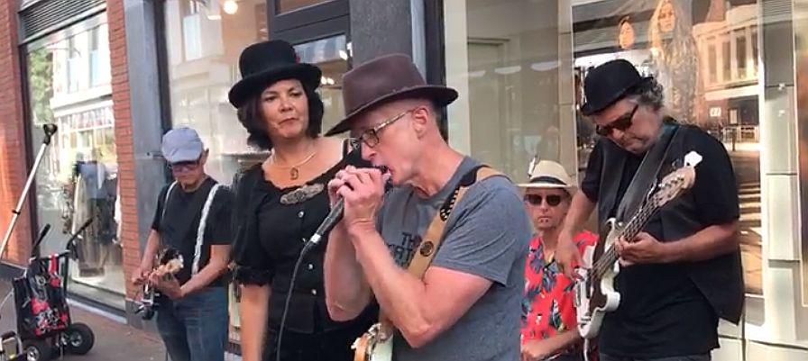 Alphen 2019 st jorisstraat - bluesharp solo