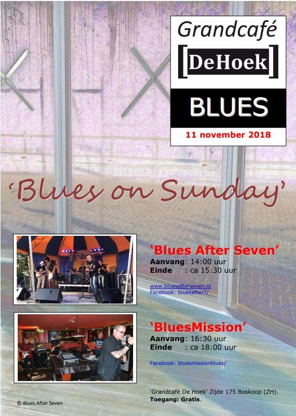 GrandCafe De Hoek Boskoop - Blues on Sunday - 11-11-2018 versie 1.0