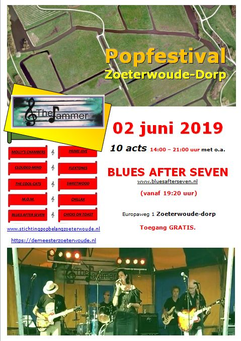 poster Popfestival Jammer - Blues After Seven 0.2